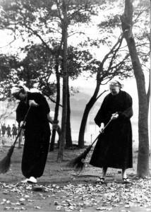 Rev. Master Jiyu at Sojiji Temple, Japan